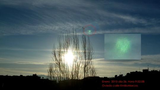 drones de la otan fumigan Oviedo